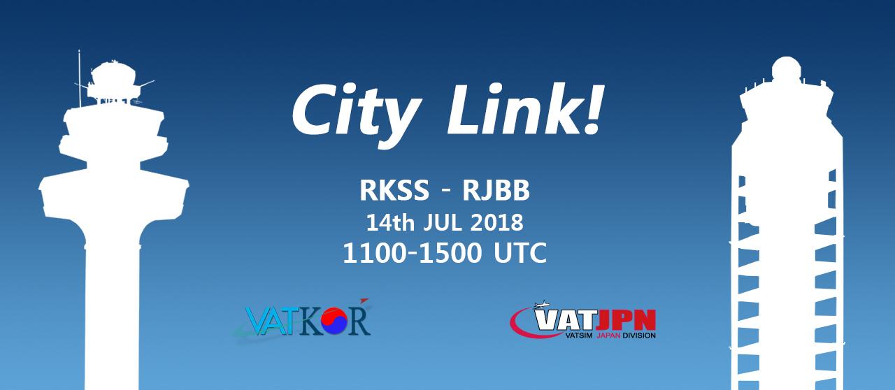 """""""RKSS - RJBB City Link!"""" イベントバナー"""